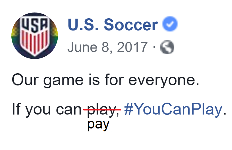 What Causes USA Soccer's Pay-to-Play Problem?
