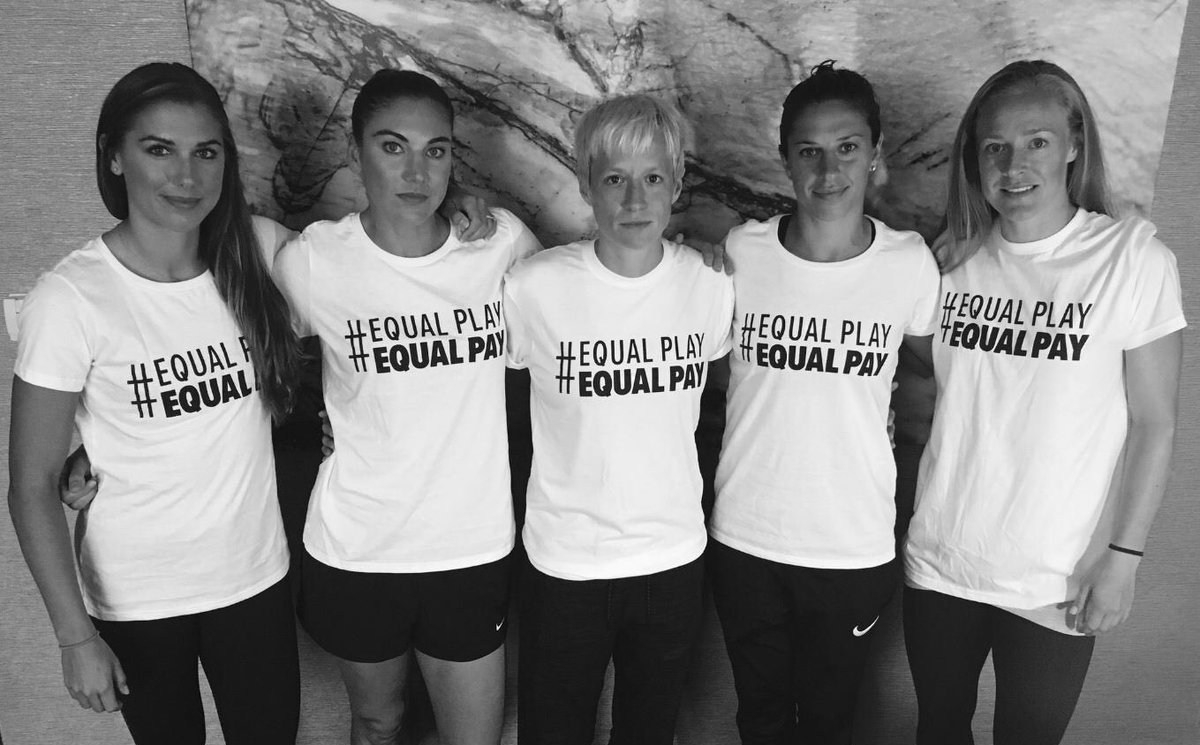 USA Women's Soccer Equality for More Than Just 23Players